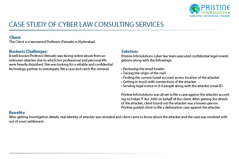 case study for cyber law services in india